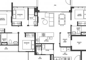 Pullman Residences Floor Plan Layout