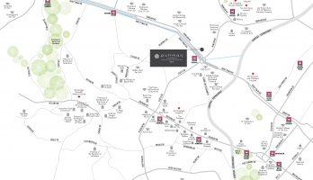 Pullman Residences Newton Location_map