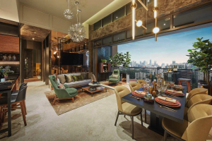 Pullman Residences Show Flat