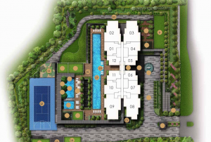 Pullman Residences Site Plan Cropped