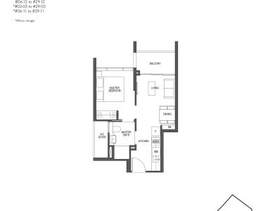 Pullman Residences 1 Bedroom Type A1