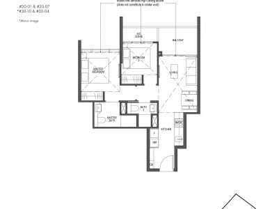 Pullman Residences Penthouse 2 Bedroom Type PH-2