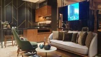 Pullman Residences 4 bedroom Living room