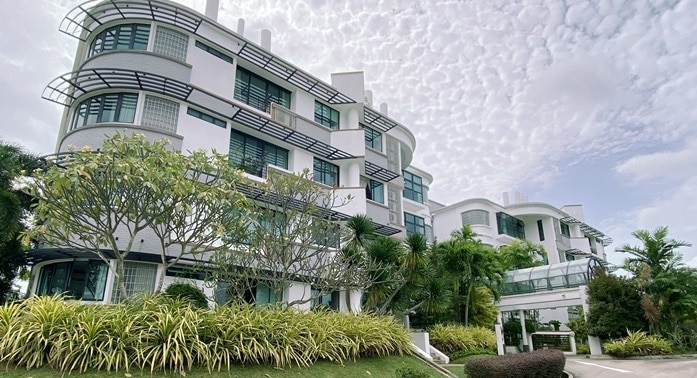 The 999-year leasehold, four-storey condominium comprises 16 residential units and sits on the Queen Astrid Park Good Class Bungalow Area (GCBA)
